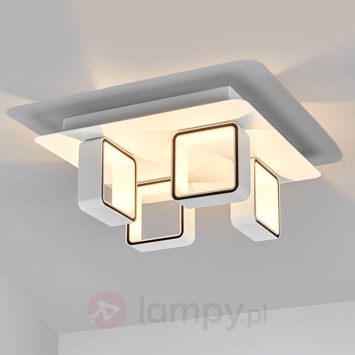 Czteropunktowa lampa sufitowa LED JULA 9644010