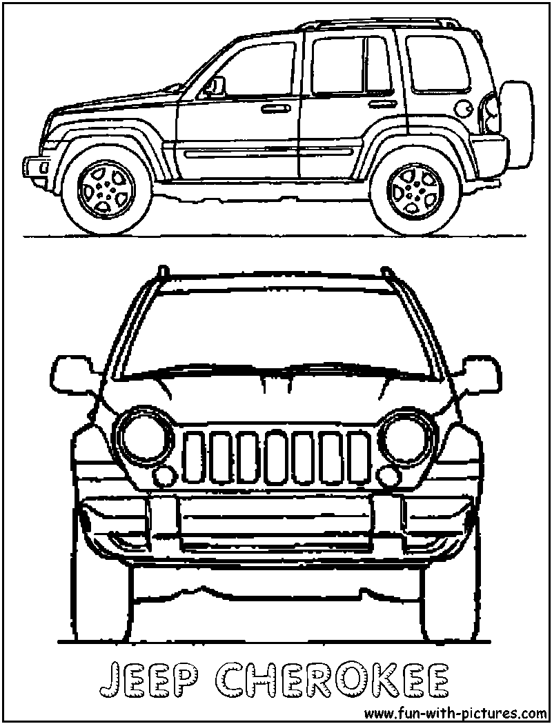 jeep coloring pages jeep coloring pages pinterest jeep drawing Modified Jeep Liberty jeep coloring pages