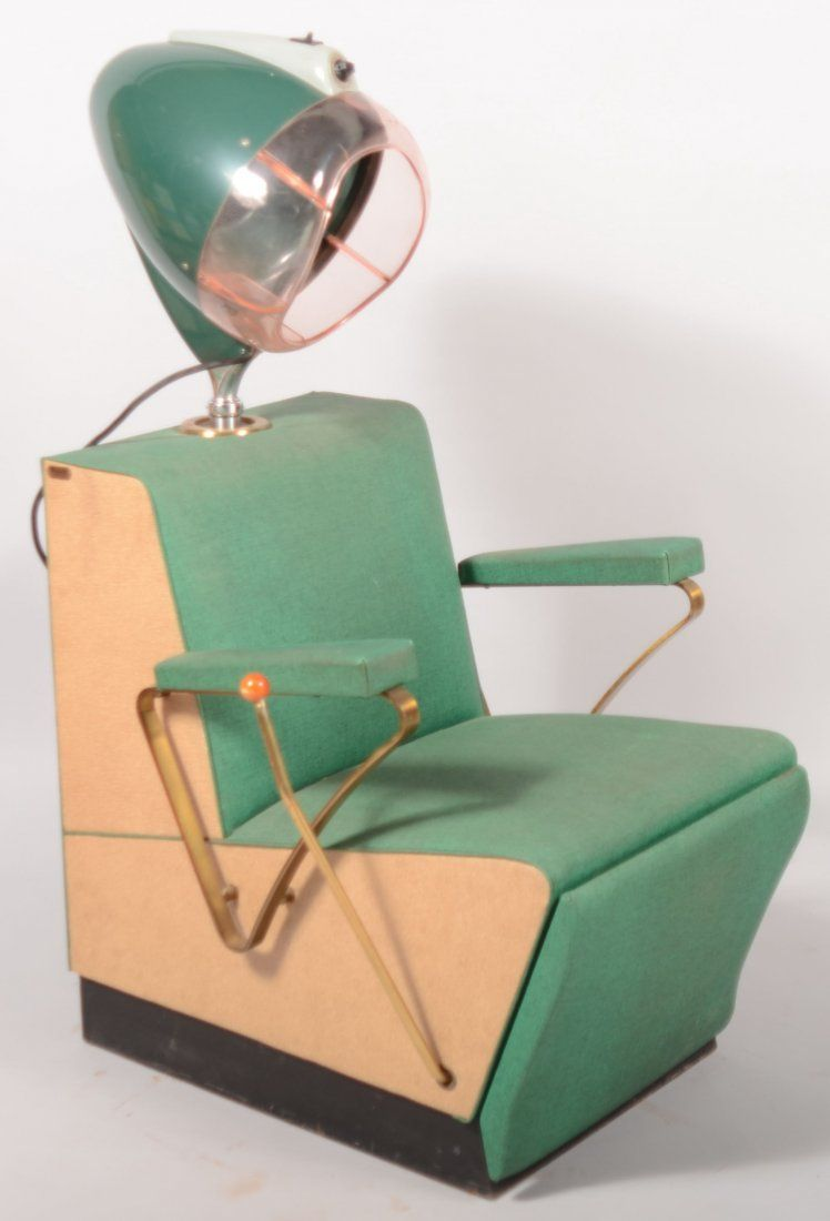 287 Art Deco Style Mid Century Modecraft Rayette Elect May 05 2012 Conestoga Auction Company Division Of Hess Auction Group In Pa Retro Salon Hair Salon Chairs Vintage Beauty Salon