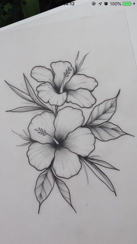 Decoracion Floral Dibujo Flor En 2020 Flores Dibujadas A Lapiz Dibujos A Lapiz Rosas Dibujos De Arte Simples