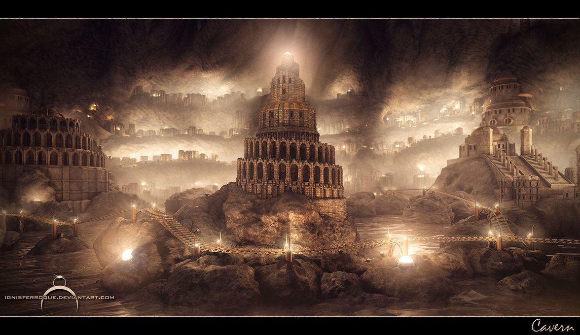 Cavern by IgnisFerroque.deviantart.com on @DeviantArt