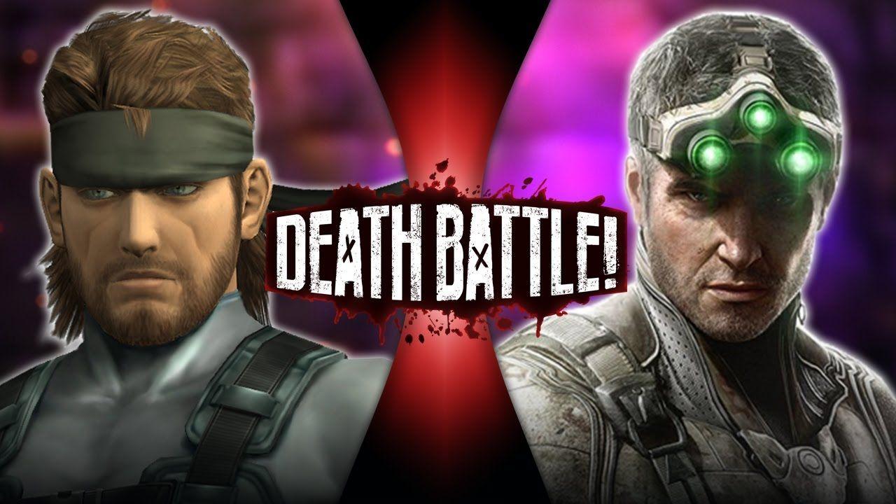 solid snake vs sam fisher metal gear vs splinter cell death