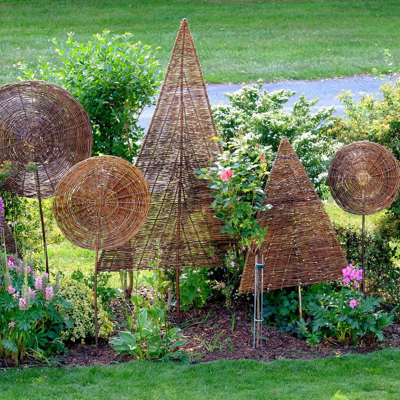 SichtschutzWeidenbaum Laubbaum, natur Decoration jardin