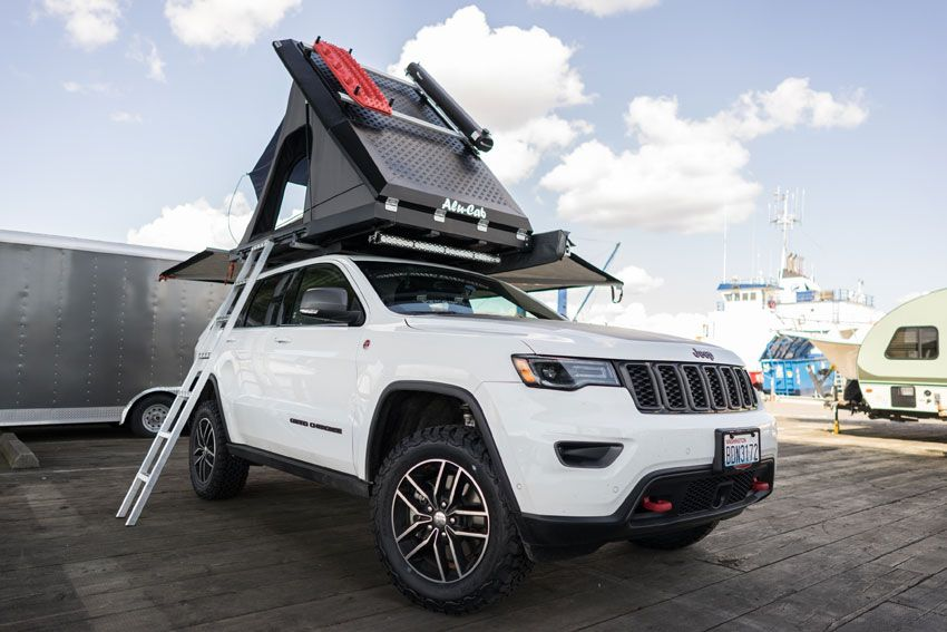 Turning A 2017 Jeep Grand Cherokee Trailhawk Into The Ultimate