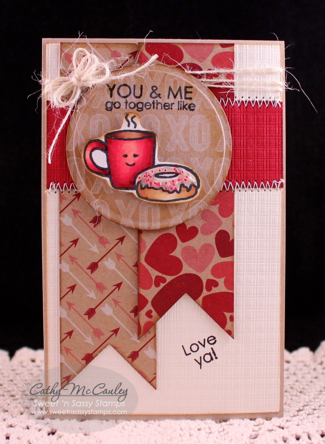 Sweet un sassy stamps u and me lawn fawn food and drink cards