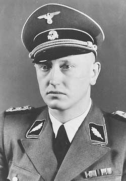SS-Standartenführer Dr. Hans Ulrich Geschke, Chief of the ...