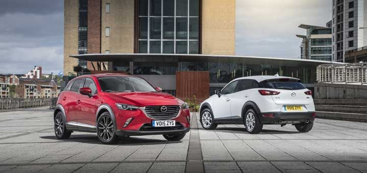 First small SUV from Mazda • Small suv