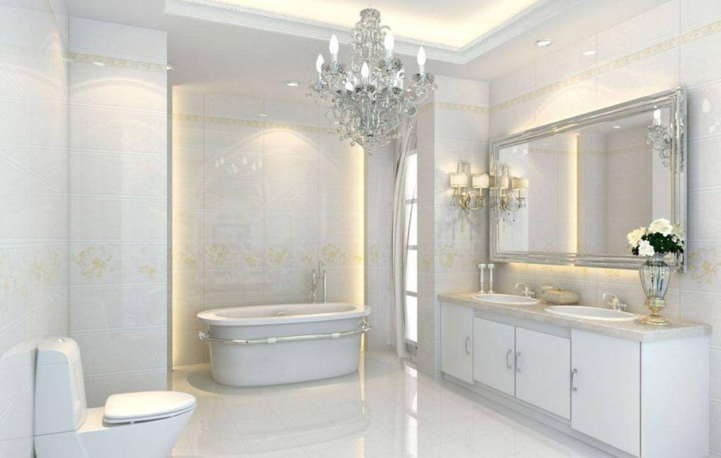 White And Silver Bathroom Ideas Bathroom Ideas Pinterest