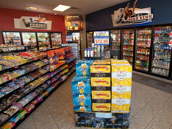 Convenience Store Design Ideas convenience store and big box merchandise store in the world uses a self service design his ideas are indeed all over the world Tetco Beverage Environmental Design By Next Door