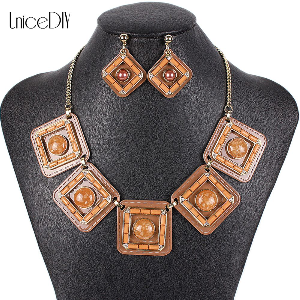 Ms fashion jewelry sets high quality necklace sets for women