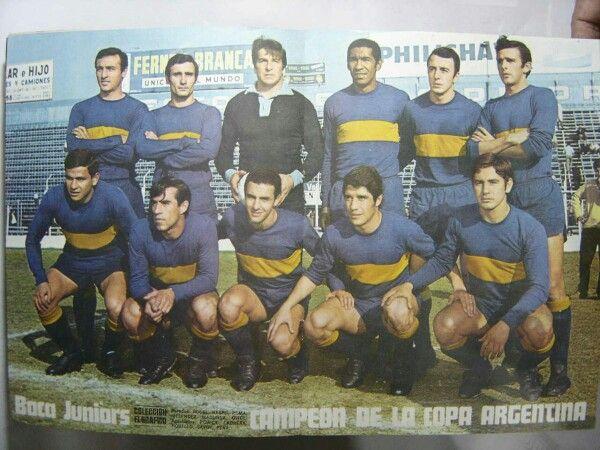 Primer Campeón Copa Argentina 1969
