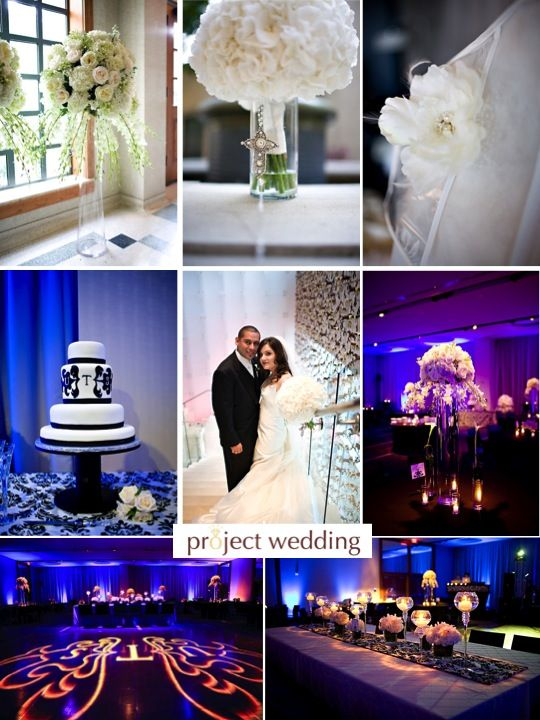 Wedding Color Palette Black And White