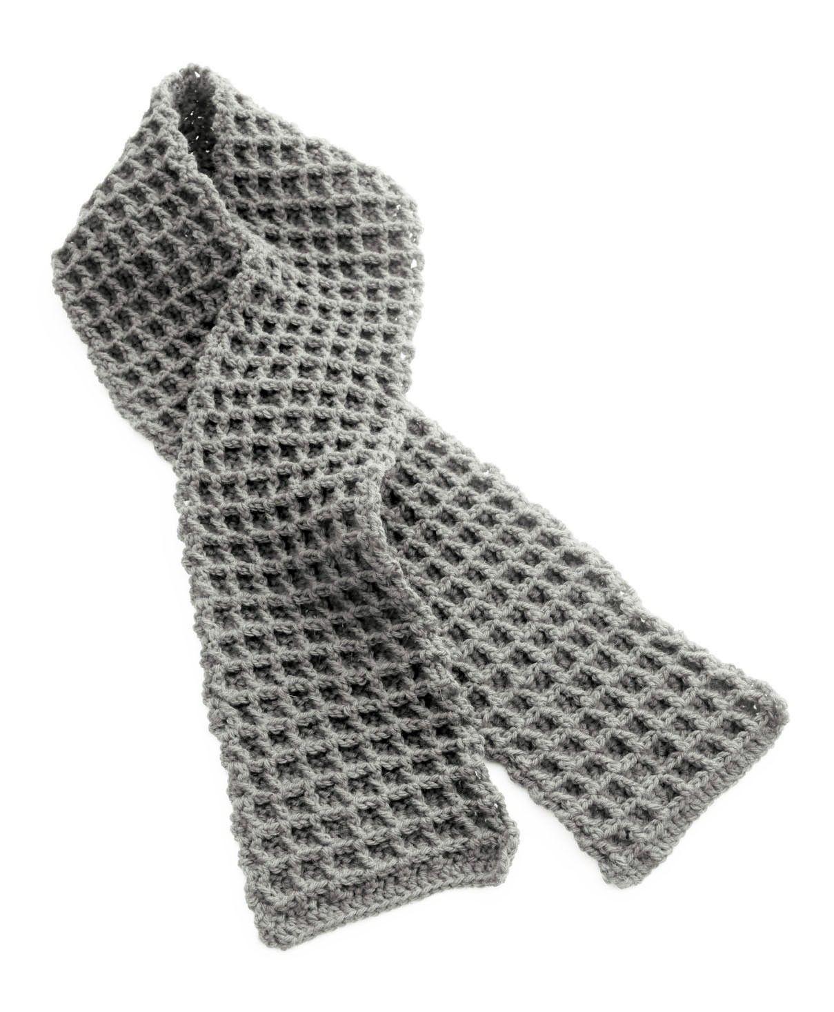 Thermal Scarf (Crochet)   yarn   Pinterest
