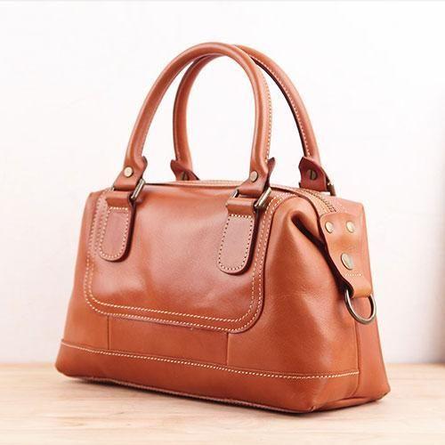 2047ced89671 Genuine Leather Handmade Handbag Crossbody Bag Shoulder Bag ...