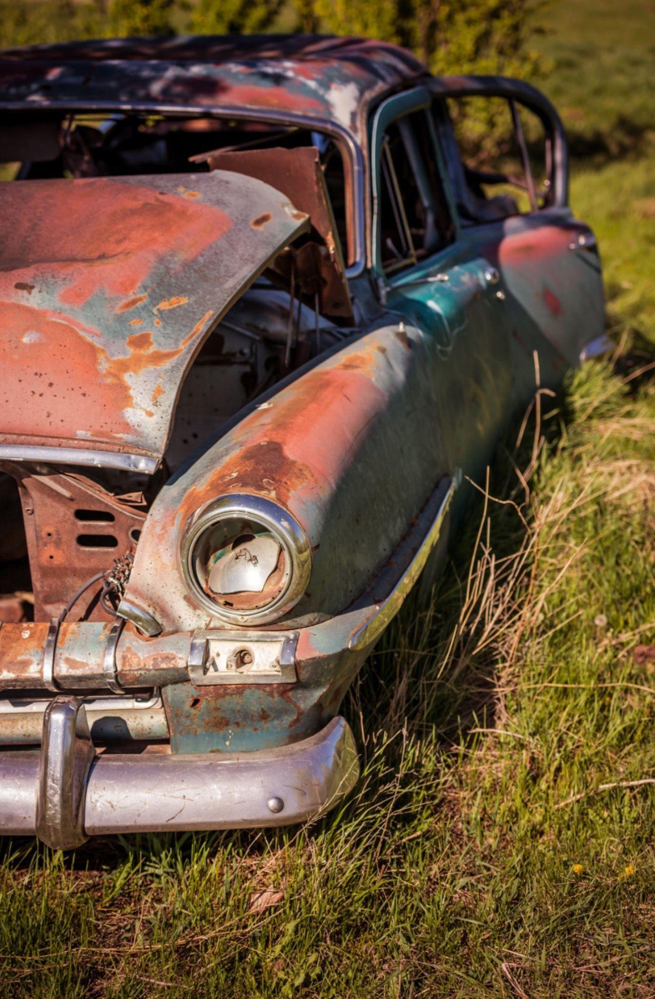 Southern Alberta Canada Photo By Wayne Stadler Source Flickr Rusty CarsAbandoned CarsBarn FindsBarn