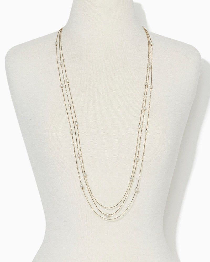 charming charlie | Small Spaces Pearl Chain | UPC: 410006999572 ...
