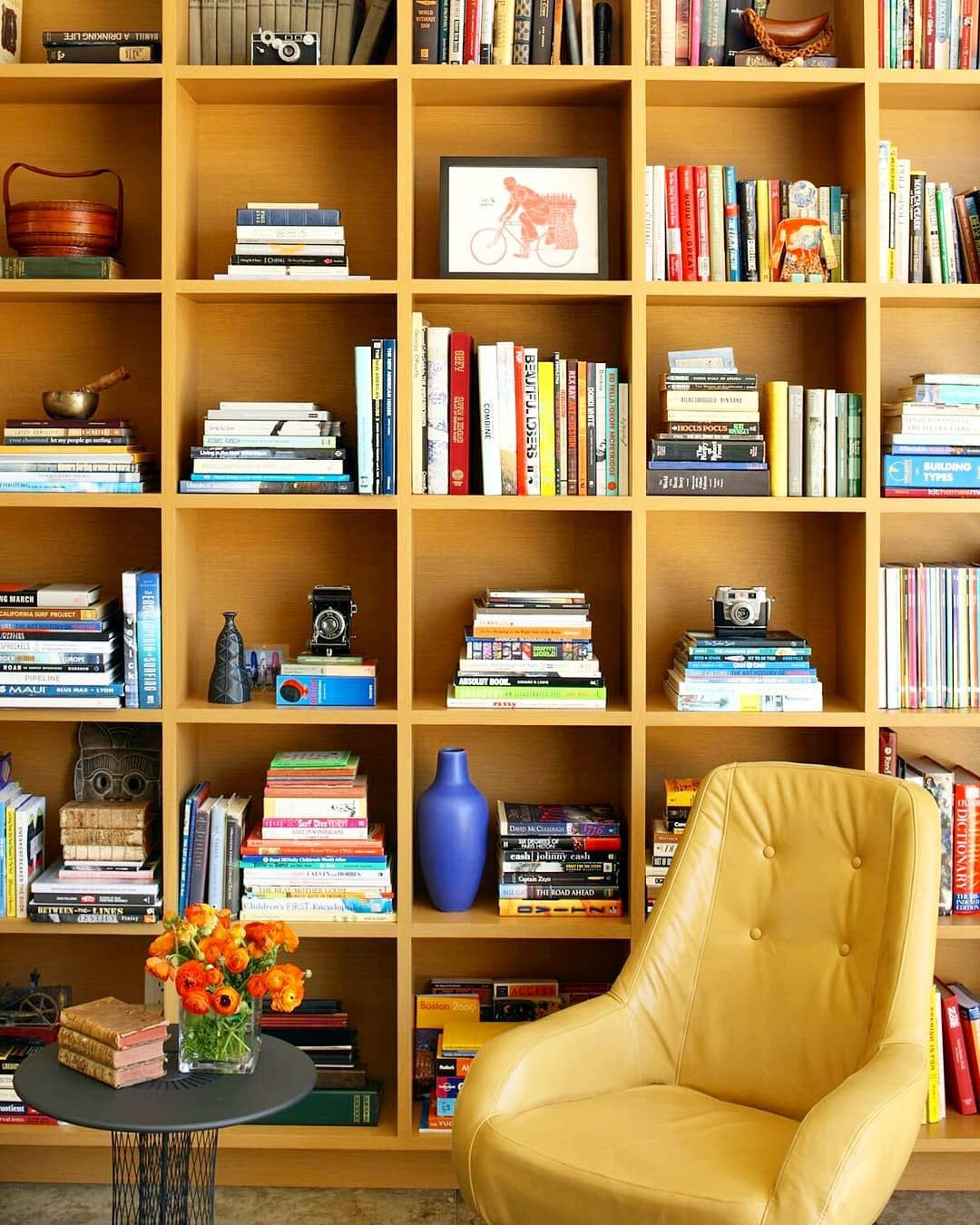 Good Bookcover Design: Wall Bookshelves, Home Library