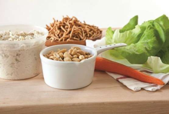 Chicken Salad Lettuce Wraps With Images Chicken Salad