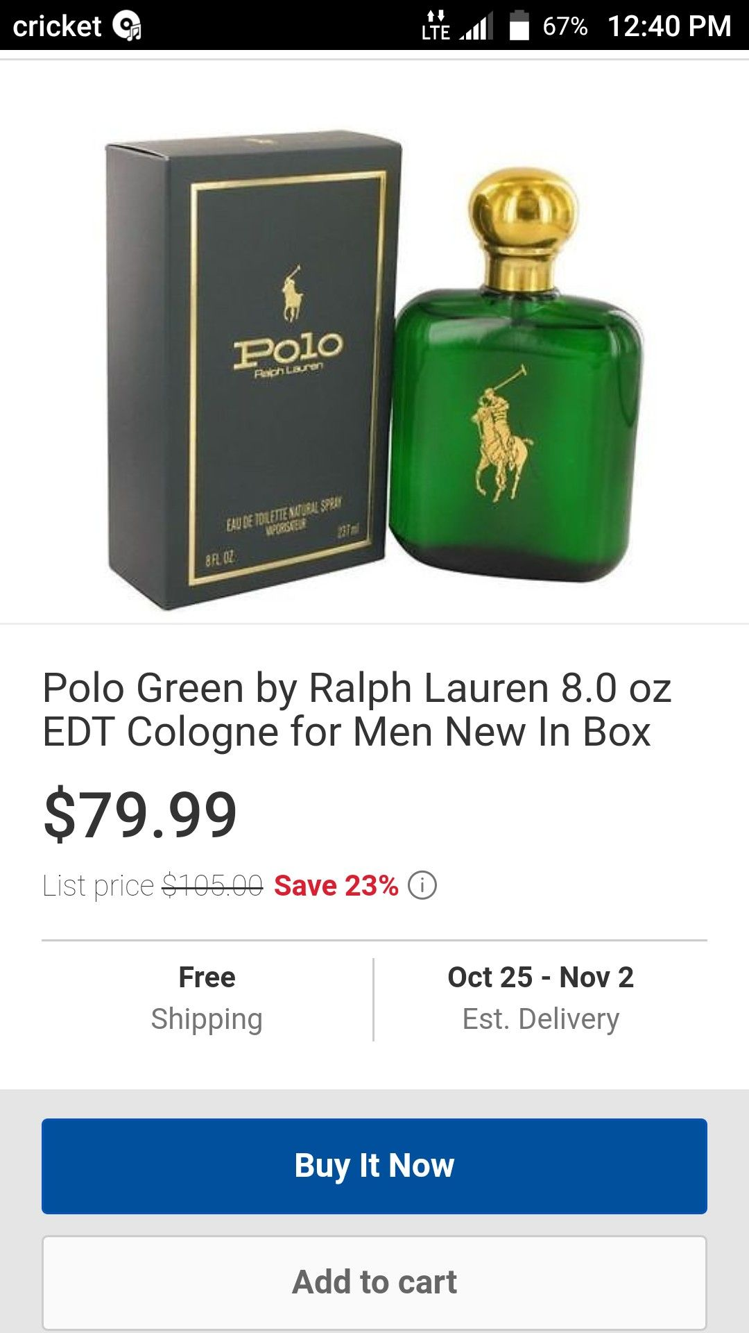 Some of my favorite cologne. Now on sale save 23 great