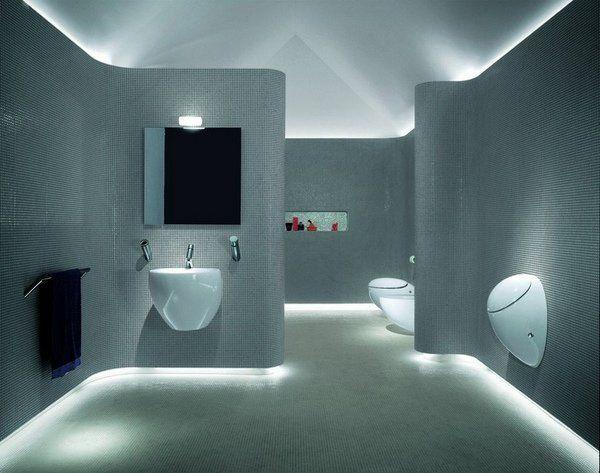 bathroom light strip pinterest'teki en iyi 8 led strip lights in