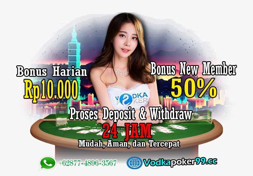 Rekomendasi Buat Kalian Yang Masih Cari Situs Winrate Tinggi Vodkapoker Mudah Menang Disini Gampang Dapat Jackpot Juga Bonus New Member Poker Cari Perkalian