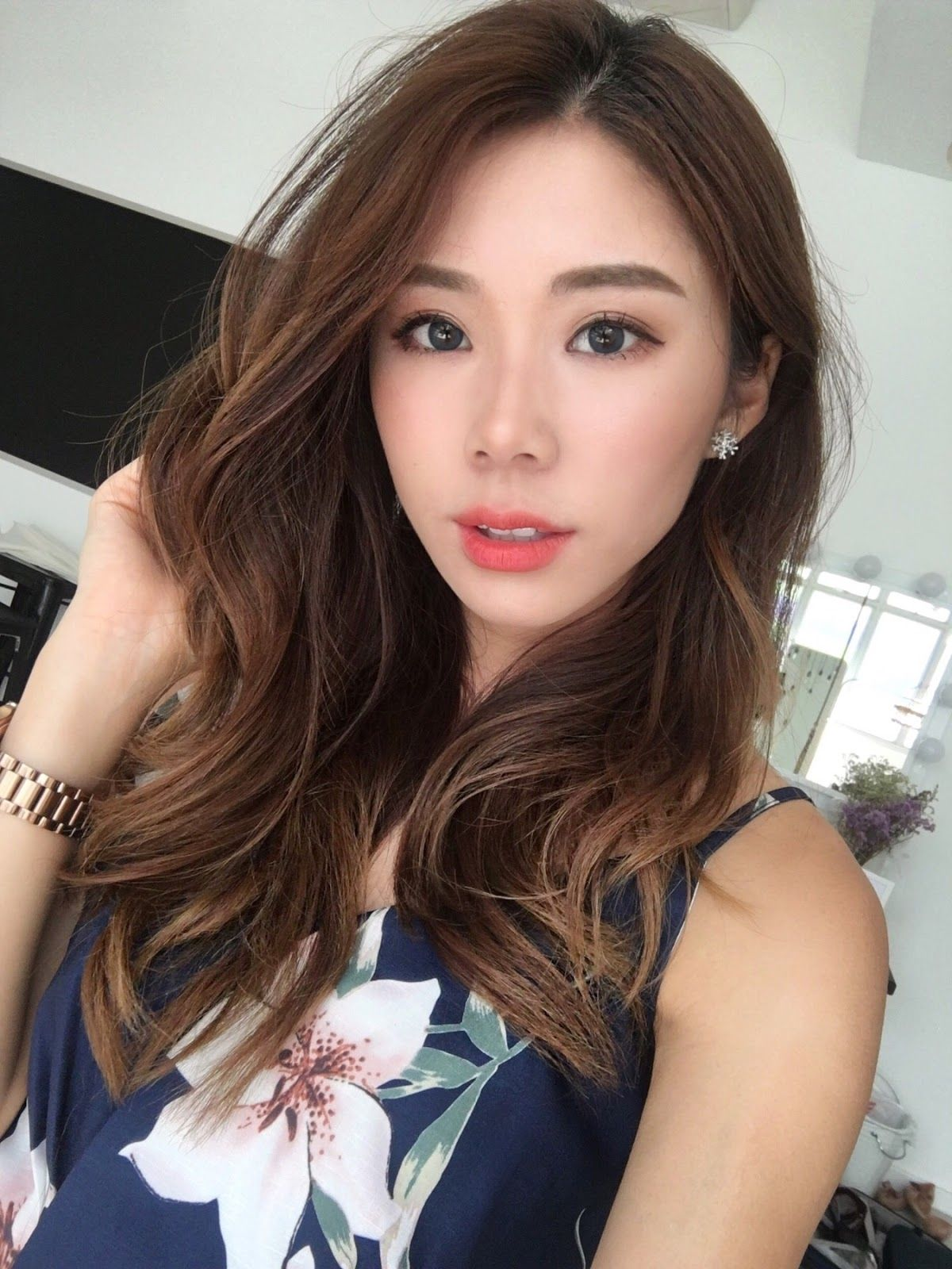 21+ Korean Girl Long Hair Wavy Hairstyle for 2018 - 2019 ...