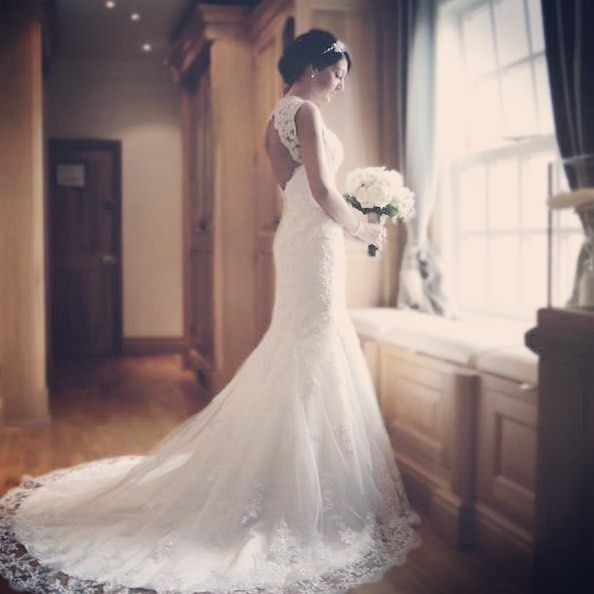 Real Brides Wed2b: Here Is A Stunning Bride Wearing 'Mimosa' By Viva Bride
