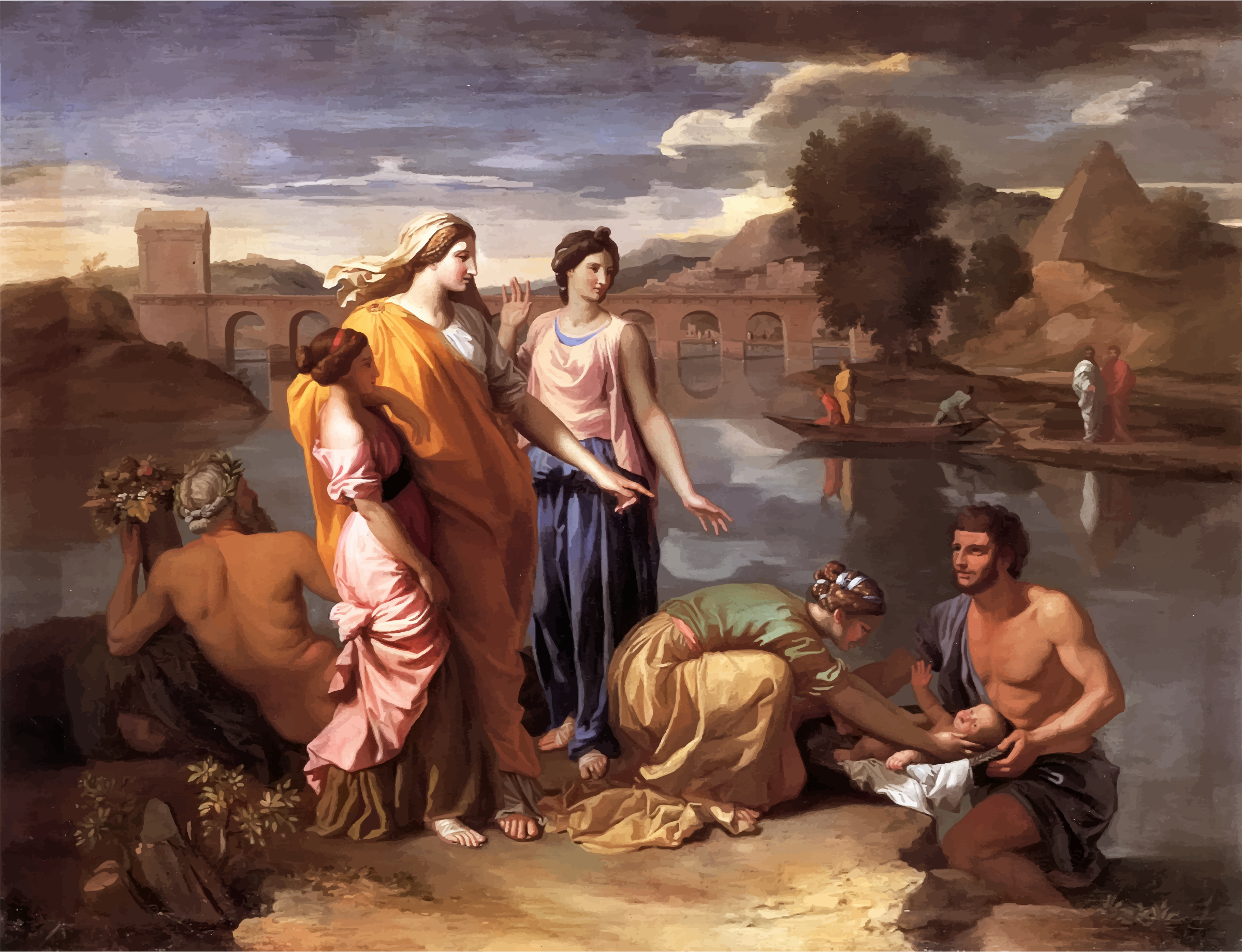 Watercolor artists directory wiki - Nicolas Poussin
