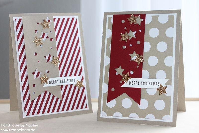pin auf stampin 39 up christmas card weihnachtskarten diy. Black Bedroom Furniture Sets. Home Design Ideas