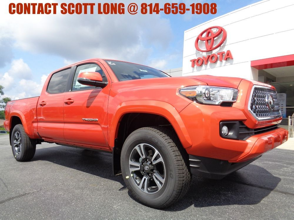 2018 Toyota 2018 Double Cab 4x4 3.5L 4WD TRD Sport