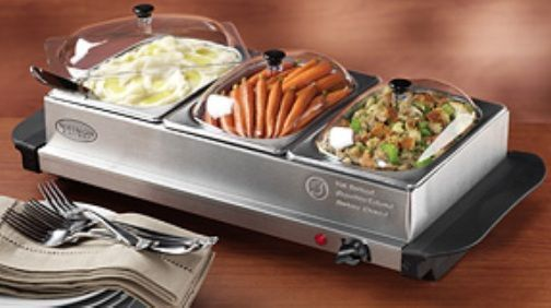 eurolab 3 tray stainless steel buffet service warmer with thermostat kitchen serving kitchen and home appliances pinterest buffet