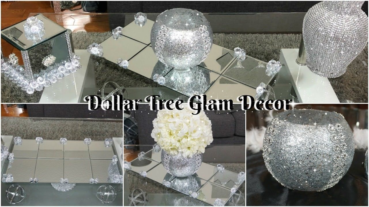 Dollar Tree Diy Mirror Decor Ideas Diy Glam Home Decor 2019