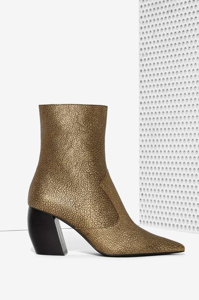 Jeffrey Campbell Dresden Leather Boot | Shop Shoes at Nasty Gal!