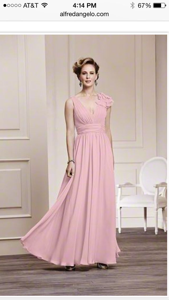 Alfred Angelo 9006 in tea rose | Dresses/Tuxes | Pinterest