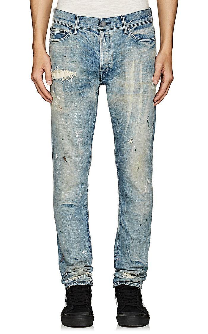 b08e1b3b3abc59 John Elliott The Cast 2 Distressed Slim Jeans | Barneys New York ...