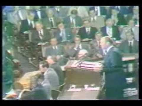 Gerald Ford Quot Whip Inflation Now Quot Speech The 1970s