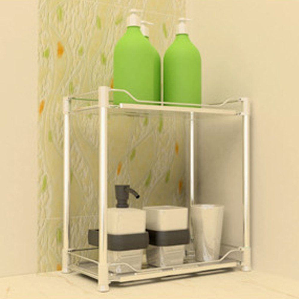 Free Standing Bathroom Accessories Teerfu Free Standing Kitchen Cabinet Bathroom Corner Storage