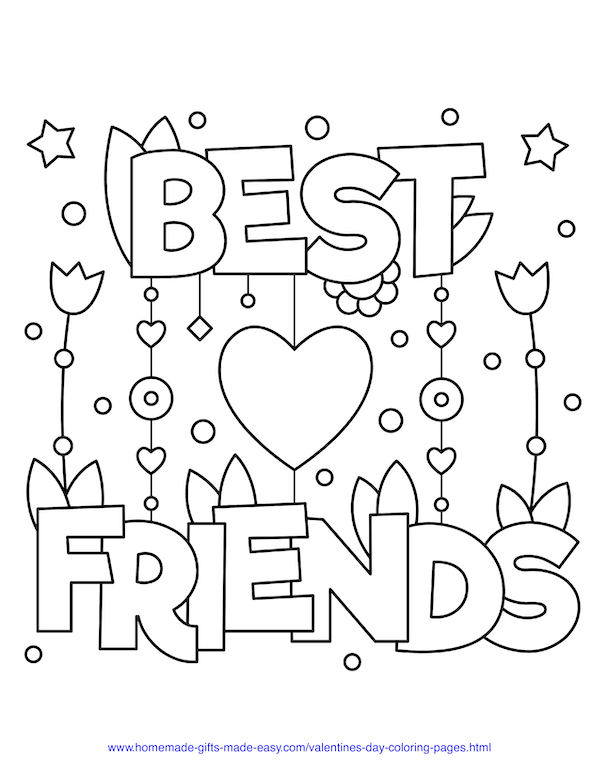 40 Valentine S Day Coloring Pages Pdf Printables In 2020 Coloring Pages Inspirational Valentine Coloring Pages Valentines Day Coloring Page
