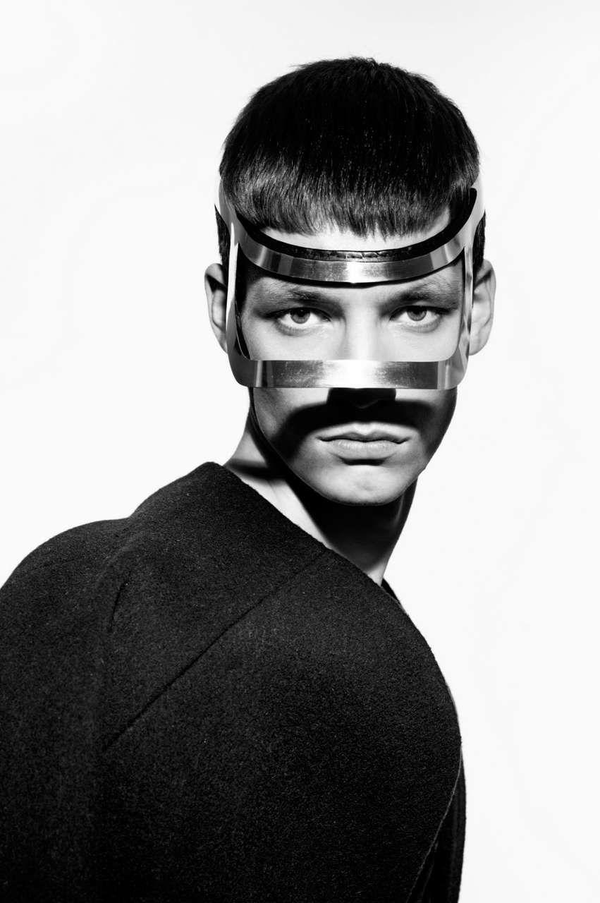 Headgear. So fashion.