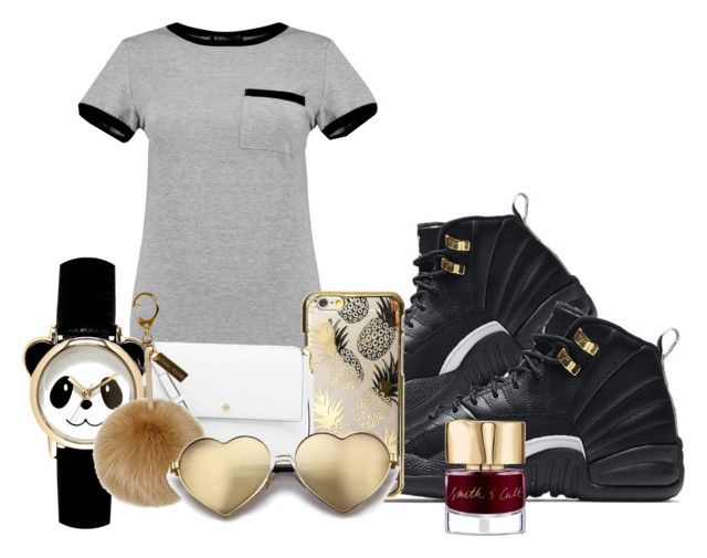 """Untitled #9"" by shayshay20 on Polyvore featuring MARA, NIKE, Skinnydip, Tory Burch, Helen Moore, Wildfox and Smith & Cult"
