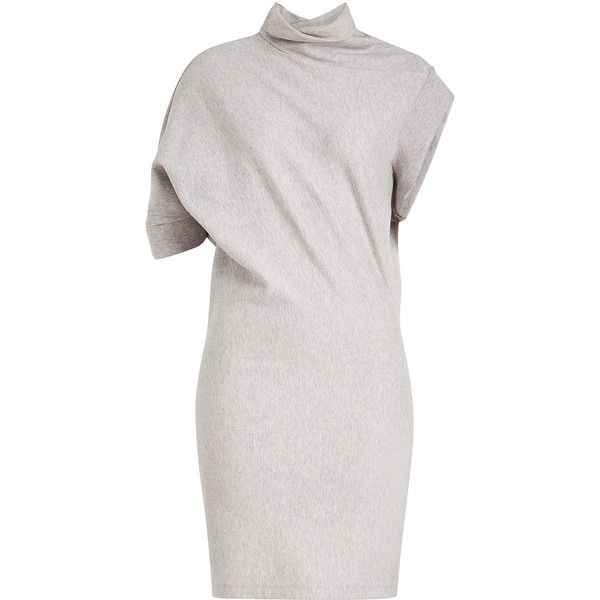 asymmetric sleeve fitted dress - Grey Maison Martin Margiela 7ph6r1