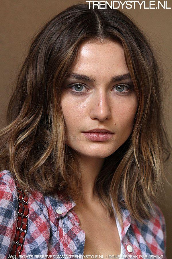 Favoriete Schouderlang haar - haar | Pinterest - Halflang haar, Halflang en Ph OV28