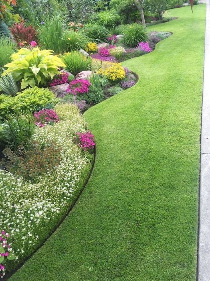 50 Schone Blumengarten Design Ideen 29 Home Decor Diy Design Front Yard Landscaping Beautiful Flowers Garden Backyard Landscaping