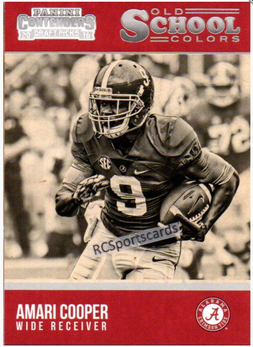 Amari Cooper Alabama Rolltide Bama Builtbybama Rtr Crimsontide Rammerjammer Builtforthenex Football Trading Cards Amari Cooper Football Cards