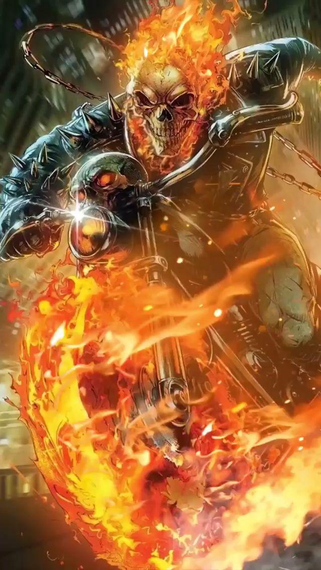 Ghost Rider Video Ghost Rider Wallpaper Ghost Rider Marvel Ghost Rider Tattoo