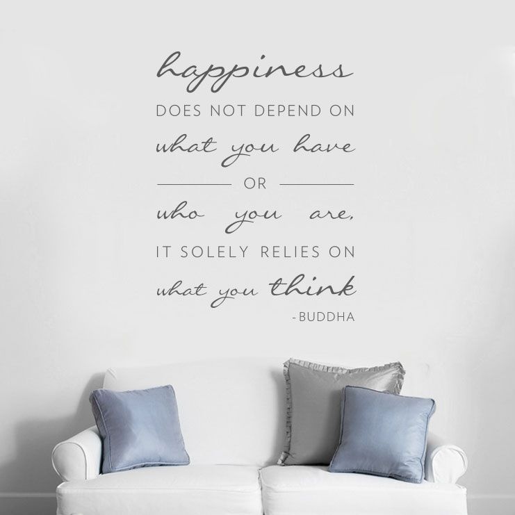 Genial Quote Wall Decals