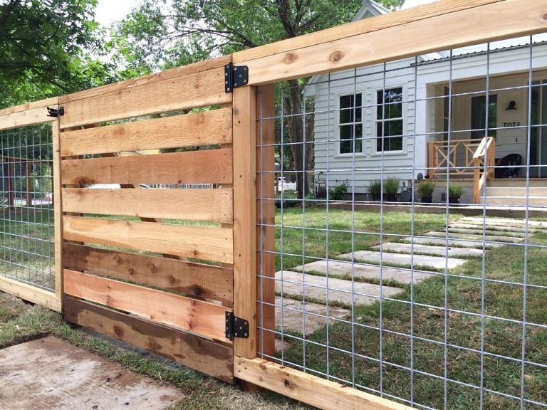 Gorgeous Modern Backyard Fence Design Ideas Besthomestyle