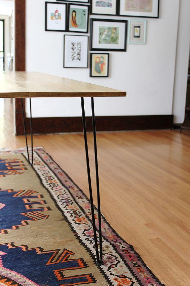 DIY Table Hairpin Leg Dining TableDiy Room