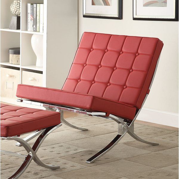 Elian Lounge Chair | Modern living rooms, Modern living and Ottomans