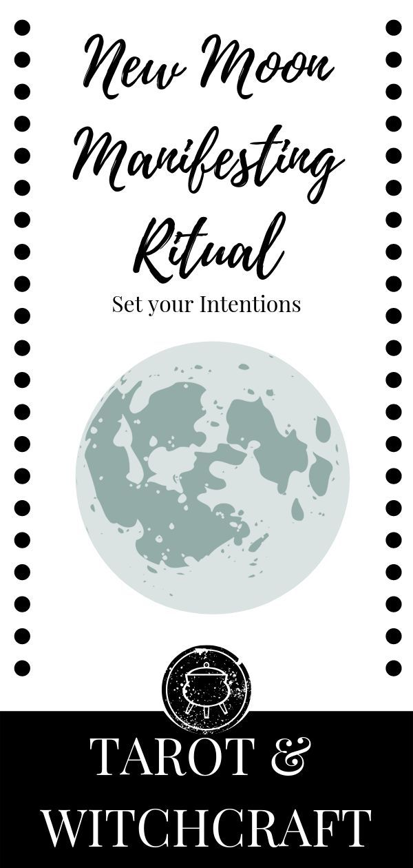 New Moon Manifesting Ritual #newmoonritual